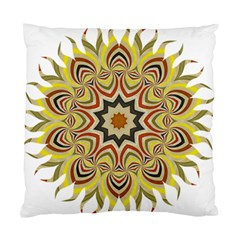Abstract Geometric Seamless Ol Ckaleidoscope Pattern Standard Cushion Case (two Sides)