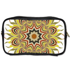 Abstract Geometric Seamless Ol Ckaleidoscope Pattern Toiletries Bags 2 Side