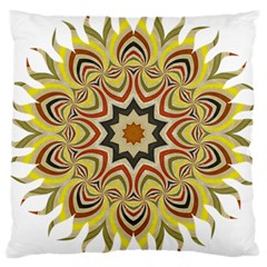 Abstract Geometric Seamless Ol Ckaleidoscope Pattern Large Cushion Case (Two Sides)