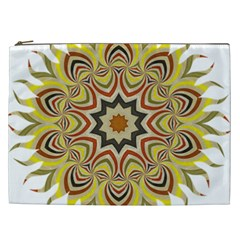 Abstract Geometric Seamless Ol Ckaleidoscope Pattern Cosmetic Bag (XXL)