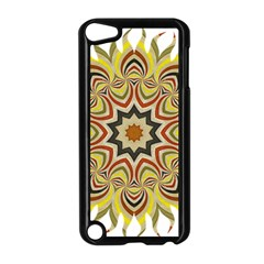 Abstract Geometric Seamless Ol Ckaleidoscope Pattern Apple Ipod Touch 5 Case (black)