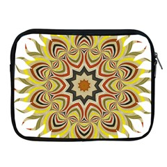 Abstract Geometric Seamless Ol Ckaleidoscope Pattern Apple iPad 2/3/4 Zipper Cases