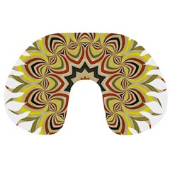 Abstract Geometric Seamless Ol Ckaleidoscope Pattern Travel Neck Pillows