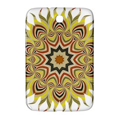 Abstract Geometric Seamless Ol Ckaleidoscope Pattern Samsung Galaxy Note 8.0 N5100 Hardshell Case