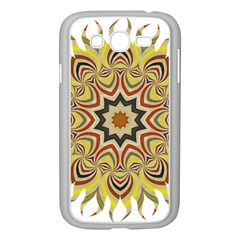 Abstract Geometric Seamless Ol Ckaleidoscope Pattern Samsung Galaxy Grand DUOS I9082 Case (White)
