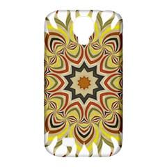 Abstract Geometric Seamless Ol Ckaleidoscope Pattern Samsung Galaxy S4 Classic Hardshell Case (PC+Silicone)