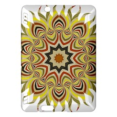 Abstract Geometric Seamless Ol Ckaleidoscope Pattern Kindle Fire HDX Hardshell Case