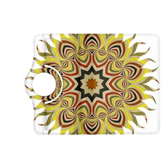 Abstract Geometric Seamless Ol Ckaleidoscope Pattern Kindle Fire HD (2013) Flip 360 Case