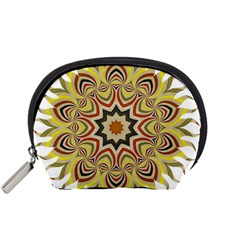 Abstract Geometric Seamless Ol Ckaleidoscope Pattern Accessory Pouches (Small)