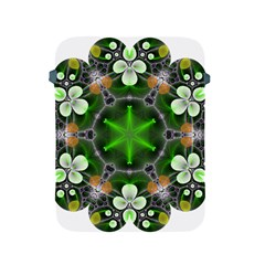 Green Flower In Kaleidoscope Apple Ipad 2/3/4 Protective Soft Cases