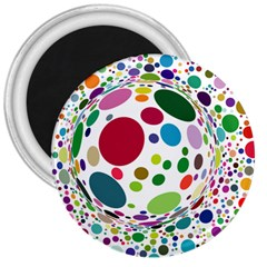 Color Ball 3  Magnets