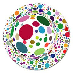 Color Ball Magnet 5  (round)