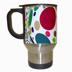 Color Ball Travel Mugs (white)
