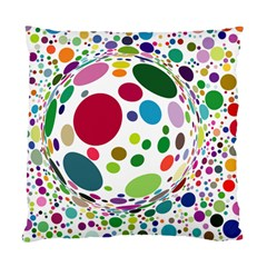 Color Ball Standard Cushion Case (two Sides)