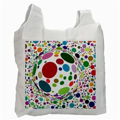 Color Ball Recycle Bag (one Side)