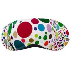 Color Ball Sleeping Masks