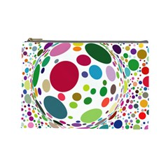 Color Ball Cosmetic Bag (large)