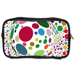 Color Ball Toiletries Bags 2 Side