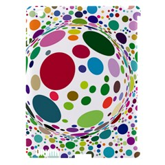Color Ball Apple Ipad 3/4 Hardshell Case (compatible With Smart Cover)
