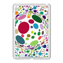 Color Ball Apple Ipad Mini Case (white)