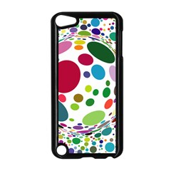 Color Ball Apple Ipod Touch 5 Case (black)