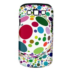 Color Ball Samsung Galaxy S Iii Classic Hardshell Case (pc+silicone)