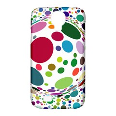 Color Ball Samsung Galaxy S4 Classic Hardshell Case (pc+silicone)