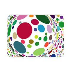 Color Ball Double Sided Flano Blanket (mini)