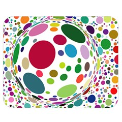Color Ball Double Sided Flano Blanket (medium)