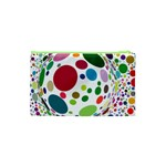 Color Ball Cosmetic Bag (XS) Back
