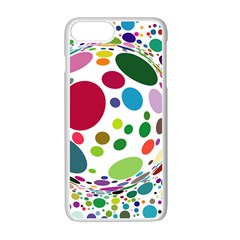 Color Ball Apple Iphone 7 Plus White Seamless Case
