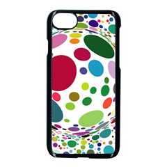 Color Ball Apple Iphone 7 Seamless Case (black)