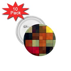 Background With Color Layered Tiling 1.75  Buttons (10 pack)