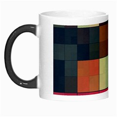 Background With Color Layered Tiling Morph Mugs