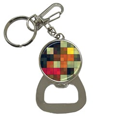 Background With Color Layered Tiling Button Necklaces