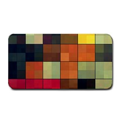 Background With Color Layered Tiling Medium Bar Mats
