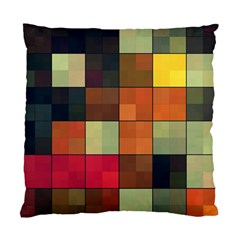 Background With Color Layered Tiling Standard Cushion Case (two Sides)