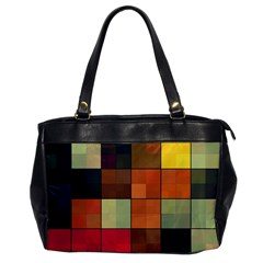 Background With Color Layered Tiling Office Handbags