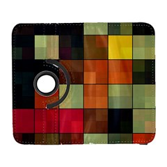 Background With Color Layered Tiling Galaxy S3 (Flip/Folio)