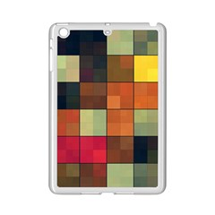 Background With Color Layered Tiling iPad Mini 2 Enamel Coated Cases