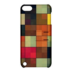 Background With Color Layered Tiling Apple iPod Touch 5 Hardshell Case with Stand