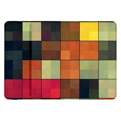 Background With Color Layered Tiling Samsung Galaxy Tab 8 9  P7300 Flip Case