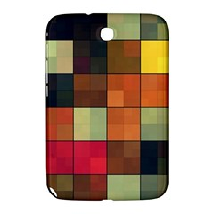Background With Color Layered Tiling Samsung Galaxy Note 8 0 N5100 Hardshell Case