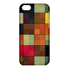 Background With Color Layered Tiling Apple Iphone 5c Hardshell Case