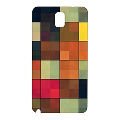 Background With Color Layered Tiling Samsung Galaxy Note 3 N9005 Hardshell Back Case