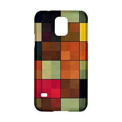 Background With Color Layered Tiling Samsung Galaxy S5 Hardshell Case