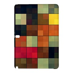 Background With Color Layered Tiling Samsung Galaxy Tab Pro 10 1 Hardshell Case