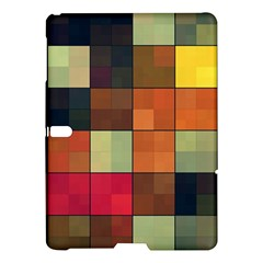 Background With Color Layered Tiling Samsung Galaxy Tab S (10.5 ) Hardshell Case