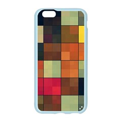Background With Color Layered Tiling Apple Seamless iPhone 6/6S Case (Color)