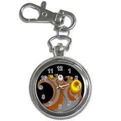Classic Mandelbrot Dimpled Spheroids Key Chain Watches
